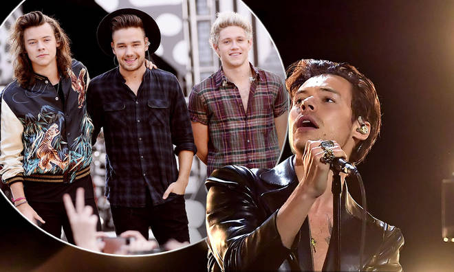 Niall Horan and Liam Payne supporting Harry Styles has sent fans into meltdown