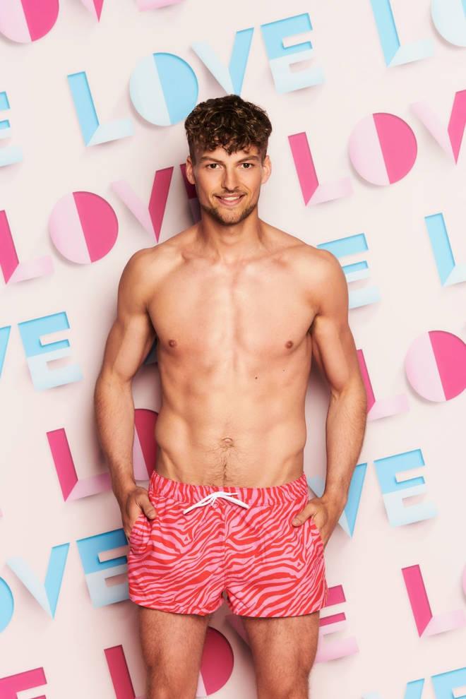 Hugo Hammond is part of the Love Island 2021 line-up