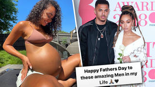 Leigh-Anne Pinnock dedicated a sweet post to her Dad and fiancé on Father's Day