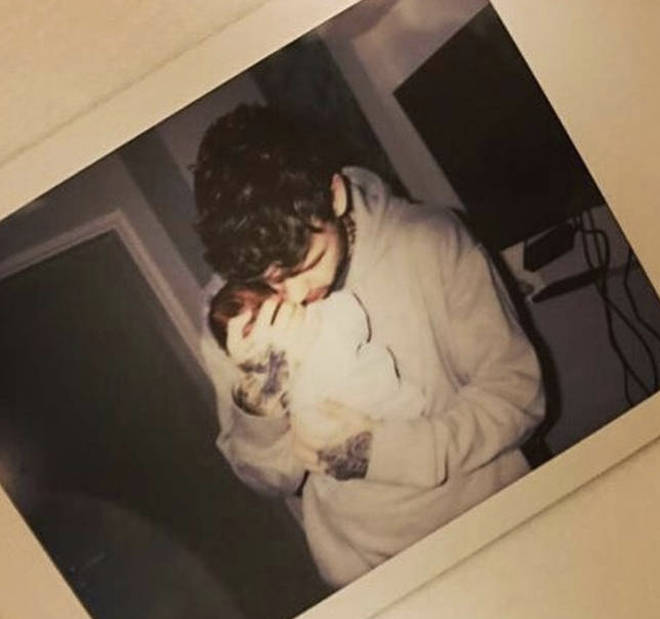 Liam Payne rarely shares pictures of his son on social media