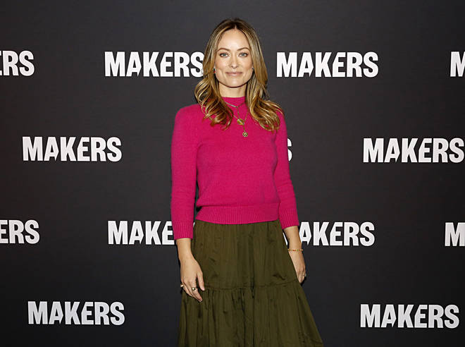 Olivia Wilde remained tight-lipped about boyfriend Harry Styles' career