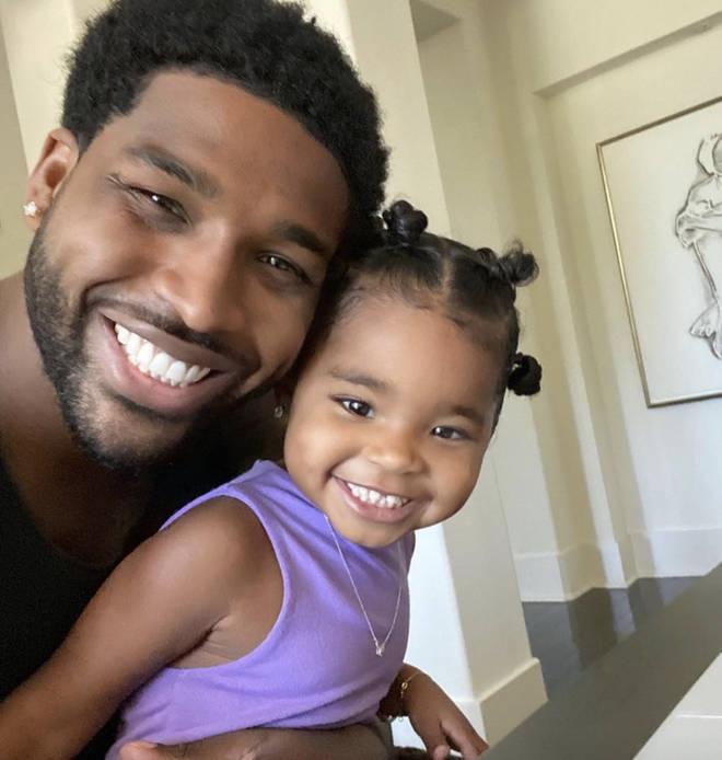 Tristan Thompson and Khloe Kardashian share daughter True