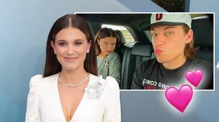 Millie Bobby Brown is dating Jake Bongiovi