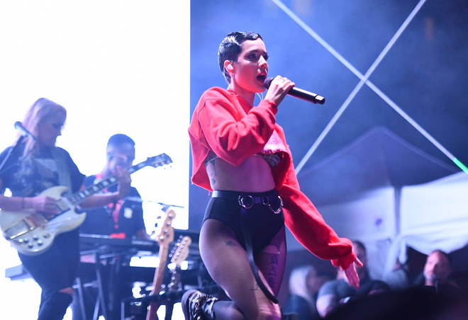 New music might be coming from Halsey sooner than we think
