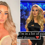 Chloe Crowhurst was involved in a 'serious car accident'