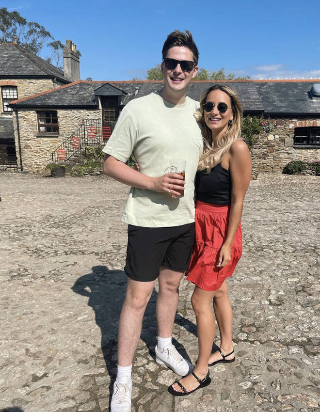 Dr Alex George confirmed he's dating new girlfriend Ellie Hecht