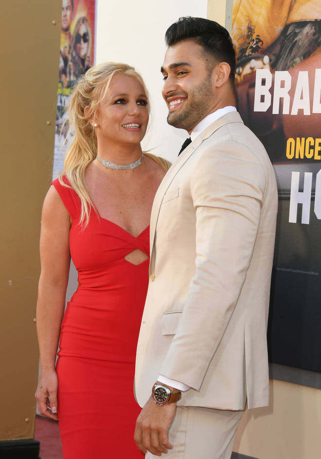 Sam Asghari remains supportive of Britney Spear's throughout her court woes