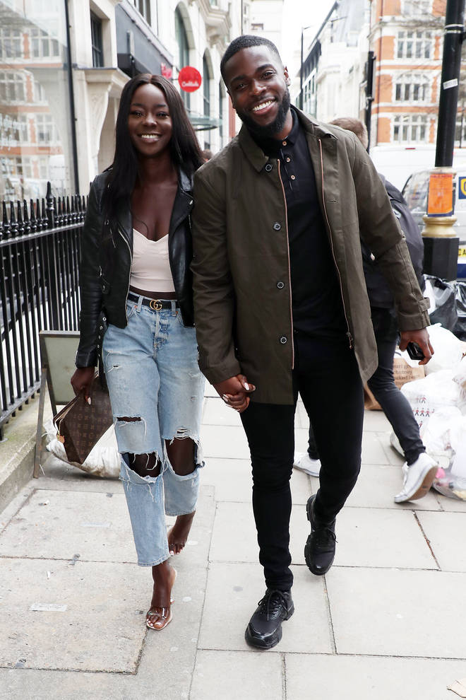 Mike Boateng and Priscilla Anyabu met on Love Island's winter edition in 2020