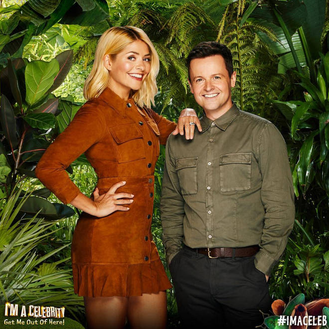 Holly Willoughby is set to present 'I'm A Celeb' alongside Declan Donnelly