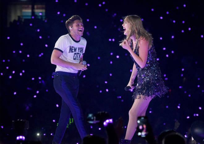 Taylor Swift and Niall Horan had a blast performing together in concert in 2018