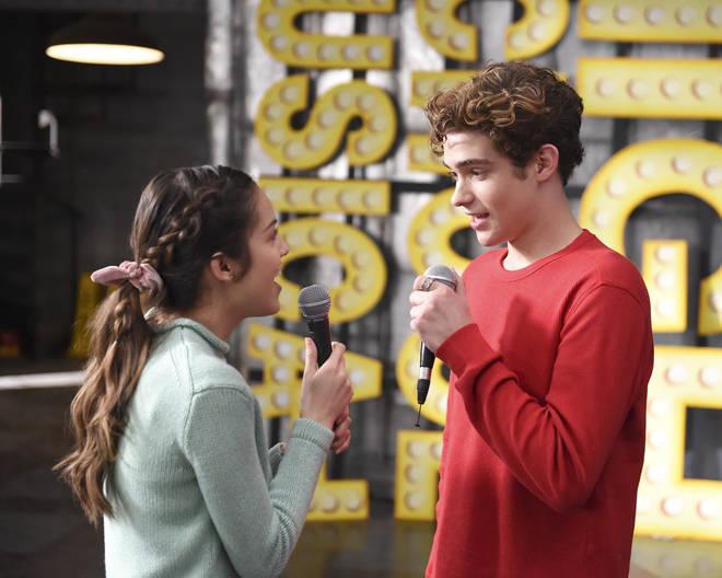 Joshua Bassett plays Ricky in High School Musial the Series