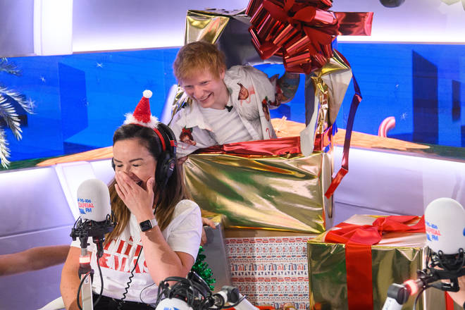 Ed Sheeran surprised a NHS worker, who lost her Christmas