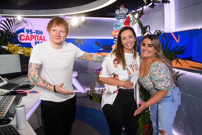 NHS employee, Nicki, was surprised by Ed Sheeran