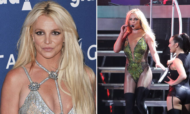 Britney Spears apologised to fans for 'pretending to be okay'