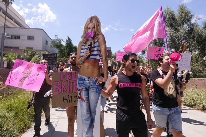 Britney Spears supporters have been protesting against her conservatorship for years