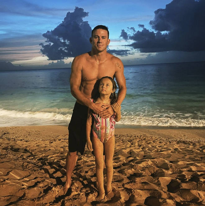 Channing Tatum shared a sweet photo with his daughter Everly