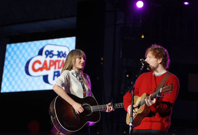 Ed Sheeran and Taylor Swift have been friends for years