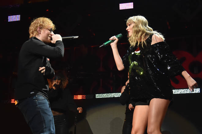 Ed Sheeran and Taylor Swift are long-term friends