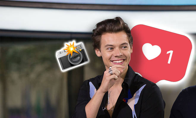 Harry Styles' latest unseen picture is making fans nostalgic