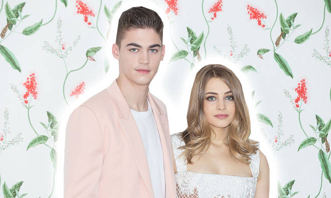 Hero Fiennes Tiffin and Josephine Langford have made After fans' day