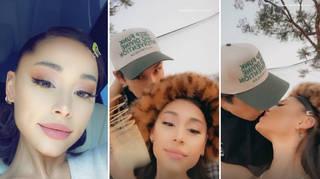 Ariana Grande shared a rare video with Dalton Gomez