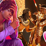 Lil Nas X puts on a steamy display at the BET Awards