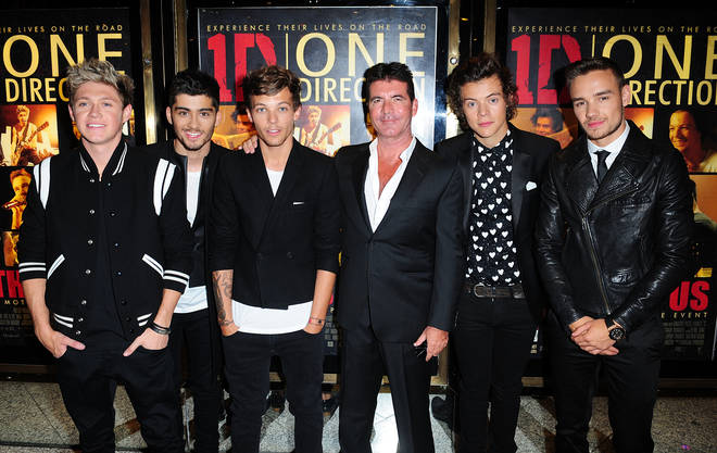 Simon Cowell put together One Direction during their season on the X Factor