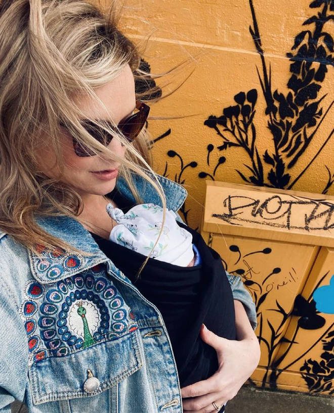 Laura Whitmore and Iain Stirling became parents in March 2021