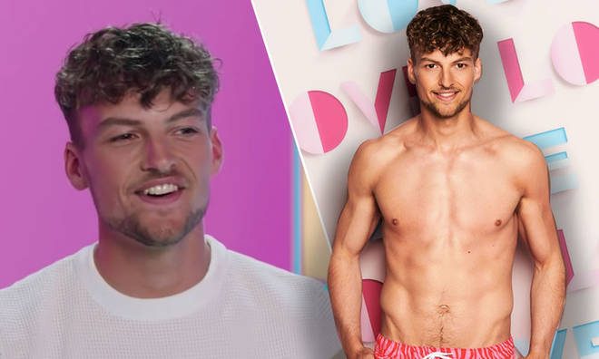 Hugo Hammond from Love Island is getting compared to Curtis Pritchard by fans