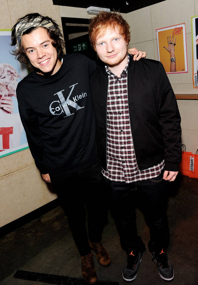Harry Styles and Ed Sheeran have been friends for years