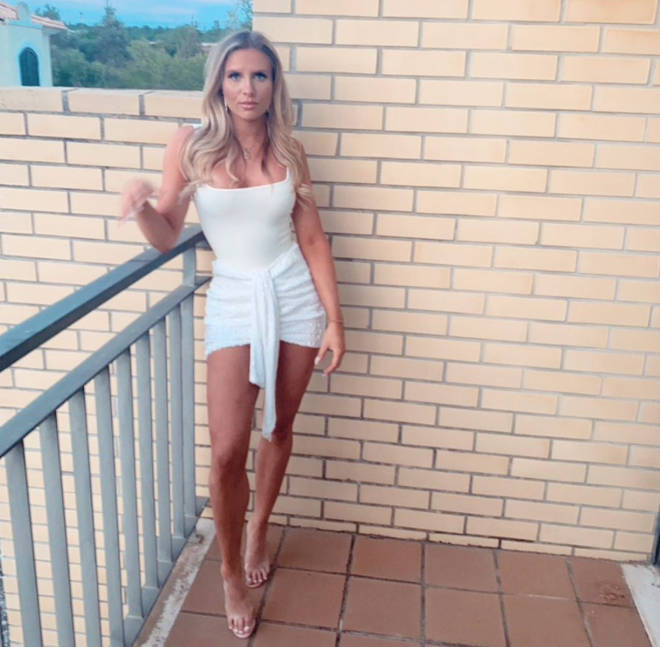 Chloe Burrows' Instagram is full of glam outfits