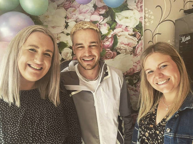 Liam Payne shared a rare photo with his sisters Ruth and Nicola