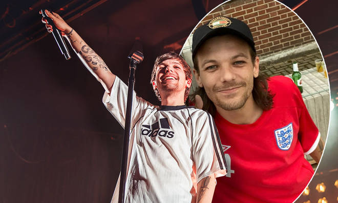 A Louis Tomlinson fan shared unseen pictures of the star