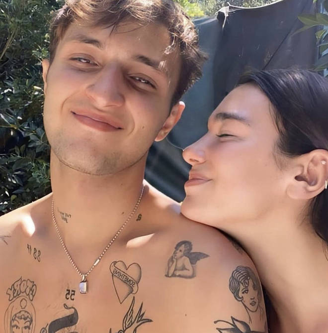 Dua Lipa opened up about her romance with Anwar Hadid