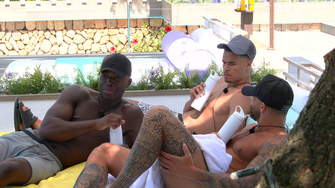 Aaron, Toby and Jake from Love Island 2021 have been wearing the caps