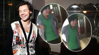 Harry Styles' fans have resurfaced a video from his X Factor dance rehearsals