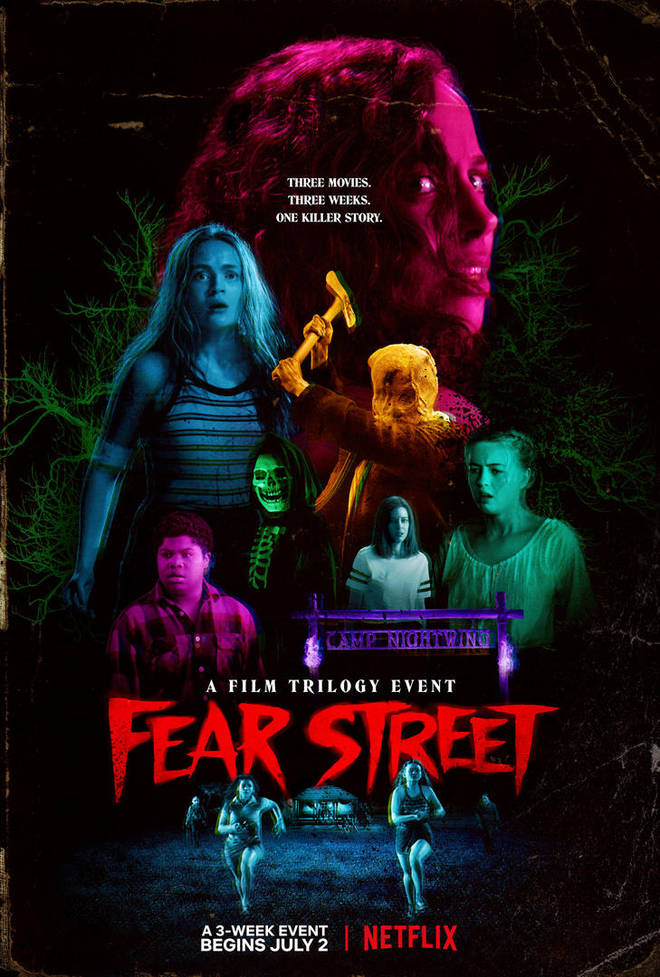 Fear Street trilogy will be released over a three week period
