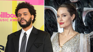 The Weeknd and Angelina Jolie were pictured having dinner in LA