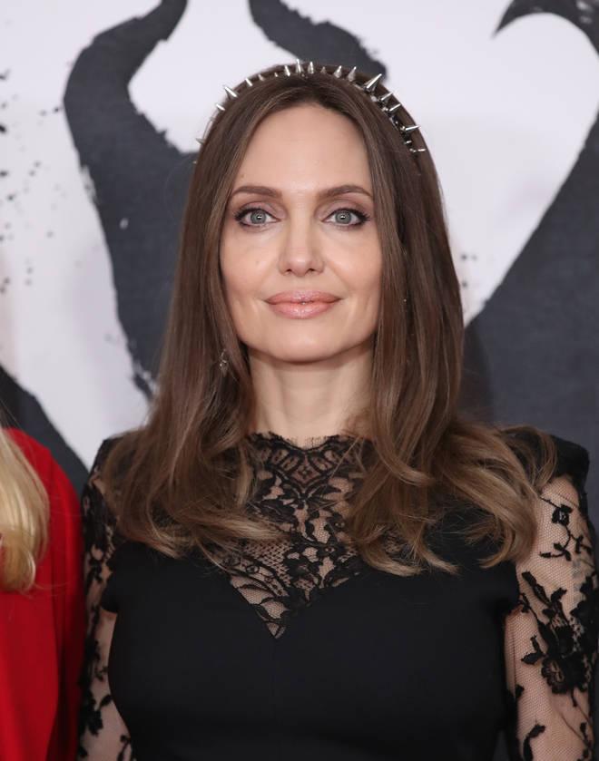 Angelina Jolie met with The Weeknd in LA