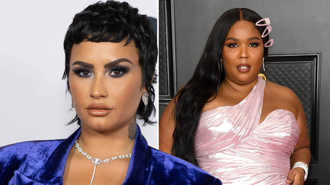 Demi Lovato thanked Lizzo for correcting a pap who misgendered them
