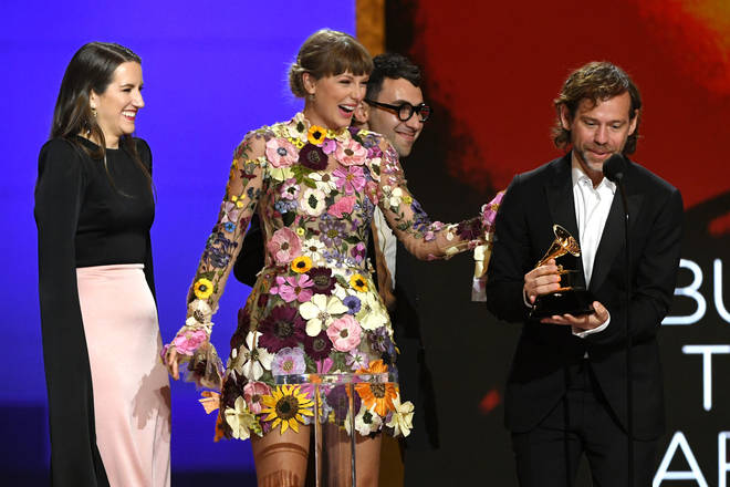 Taylor Swift and Aaron Dessner are frequent collaborators