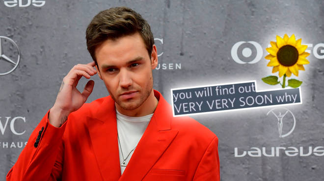 Liam Payne teased the name of his new single