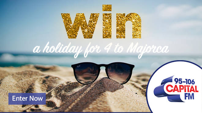 Win a holiday for 4 to Majorca