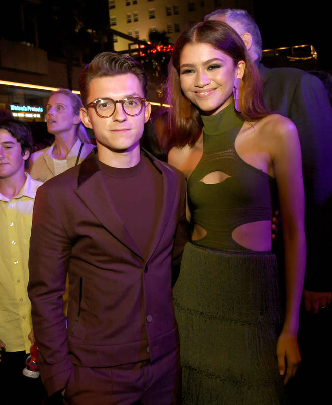 Zendaya and Tom Holland seemingly confirmed their romance