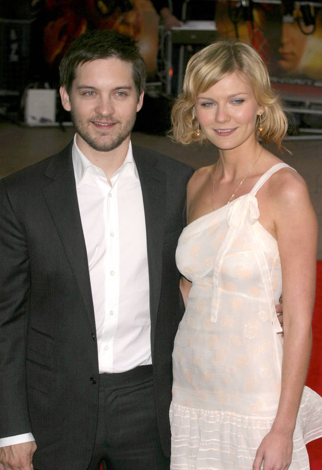 Tobey McGuire and Kirsten Dunst were the first Spiderman couple