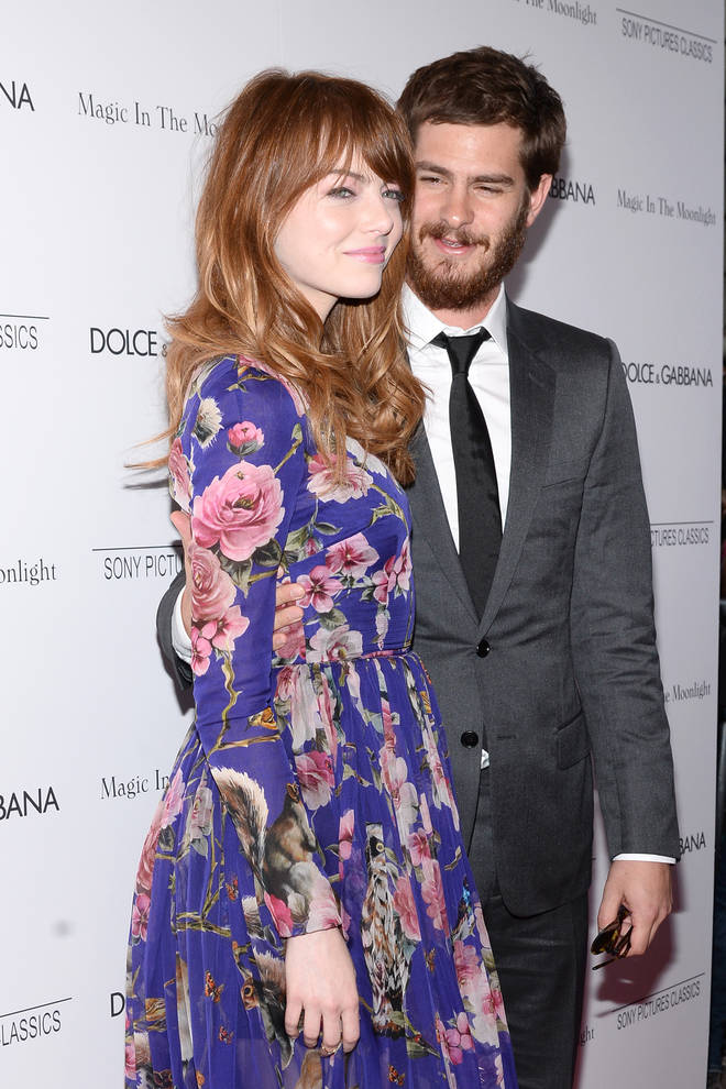 Andrew Garfield and Emma Stone dated for four years