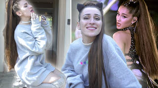 Ariana Grande impersonator does amazing parody of Vogue 73 questions
