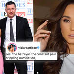 Vicky Pattison speaks on her 'crippling' heartbreak after fiancé filmed grinding on another woman