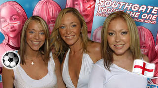 Atomic Kitten have officially released their remixed 'Whole Again' single 'Southgate You're The One (Football's Coming Home Again)'