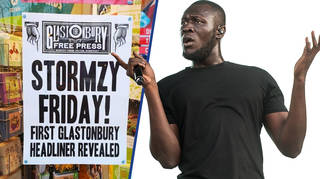 Stormzy confirmed as Glastonbury 2019 headliner through charity shop posters